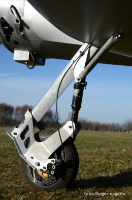 Corsair mit Spornradfahrwerk