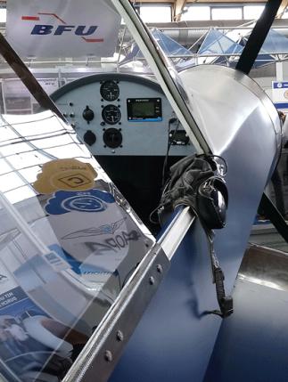 Corsair Cockpit auf der AERO 2019