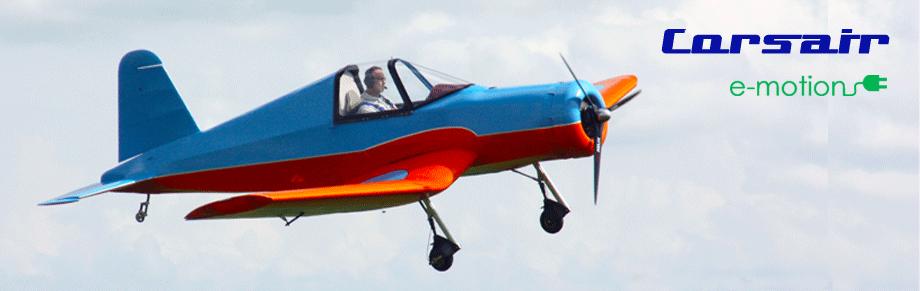 Leichtflugzeug Corsair - Prototyp